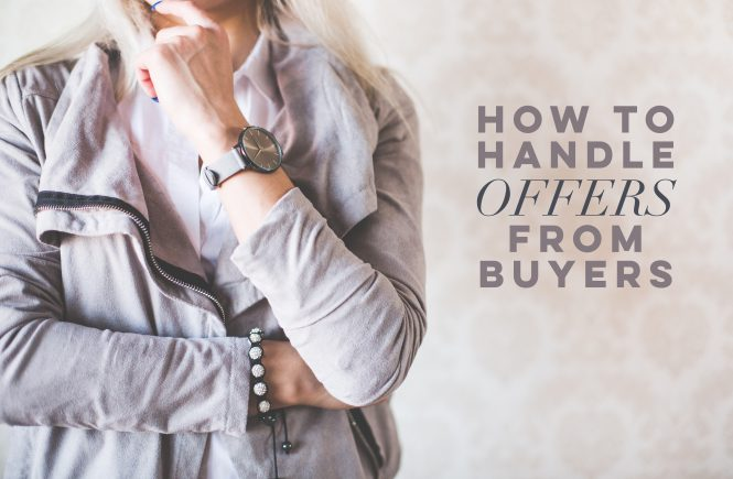 How to handle offers from buyers