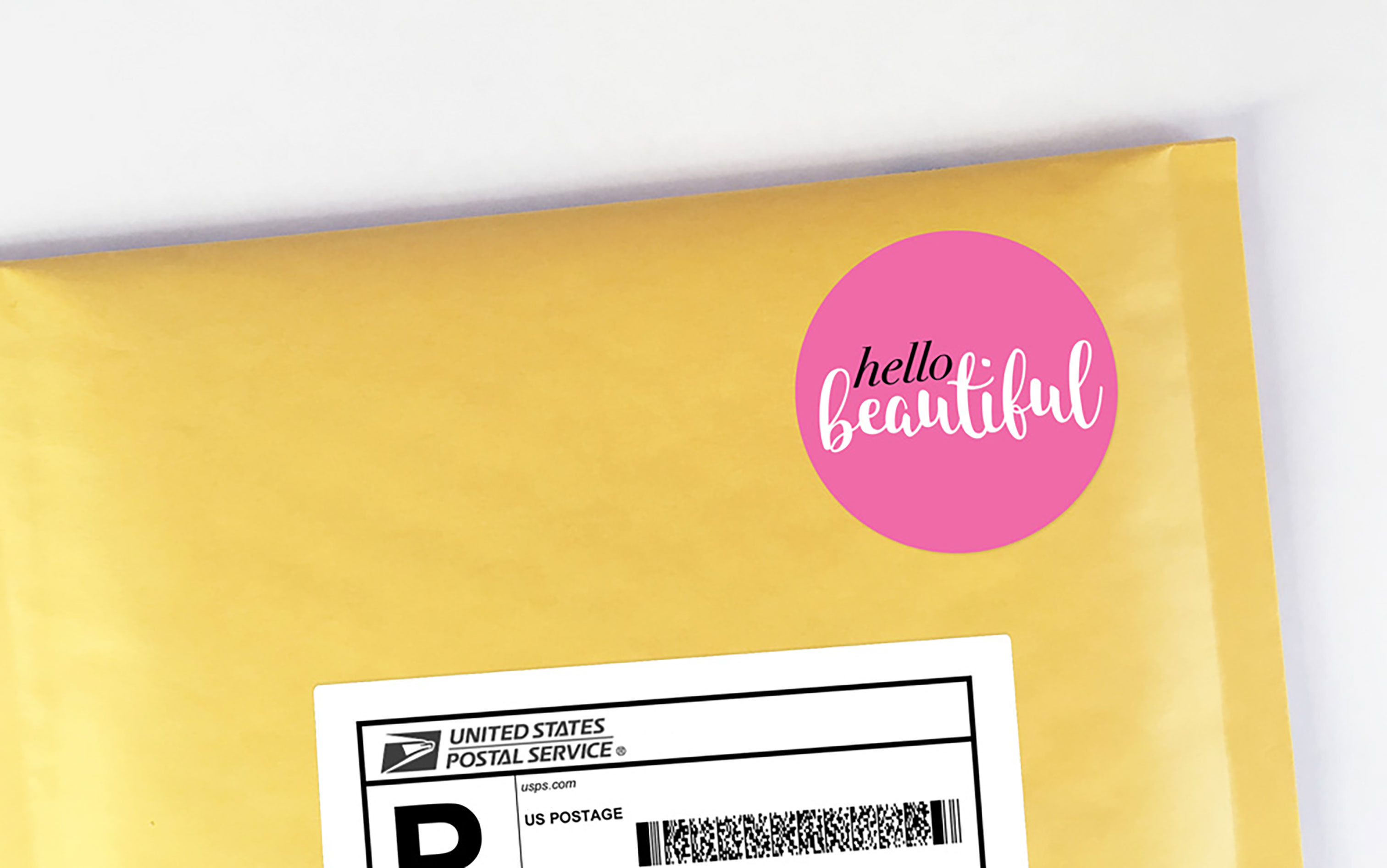 Poshmark package stickers