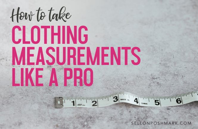 how to take clothing measurements